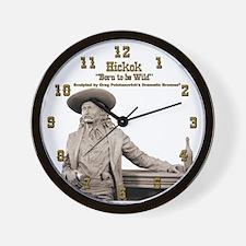 Wild Bill Hickok 04 Wall Clock