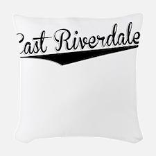 East Riverdale, Retro, Woven Throw Pillow