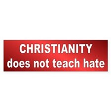 NO HATE Bumper Bumper Sticker
