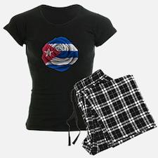 Cuban Rose Flag pajamas