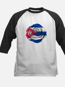 Cuban Rose Flag Baseball Jersey
