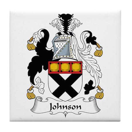 Johnson II Tile Coaster