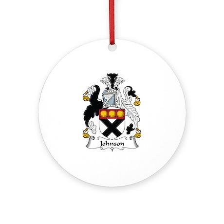 Johnson II Ornament (Round)