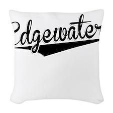 Edgewater, Retro, Woven Throw Pillow