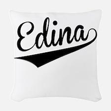 Edina, Retro, Woven Throw Pillow