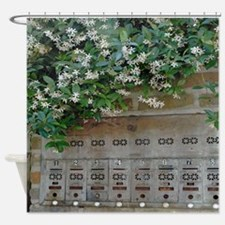 Mailboxes and Jasmine Shower Curtain