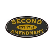 Second Amendment Olive and H.E. Yellow Patches