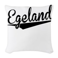 Egeland, Retro, Woven Throw Pillow