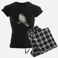 Cute Friendly Canada, Gray or Grey Jay pajamas