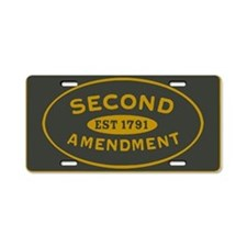 Defend the Second Amendment License Plate
