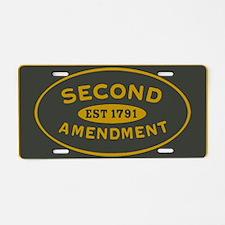 Defend the Second Amendment License Plate