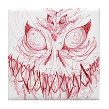 Inner Demons Tile Coaster