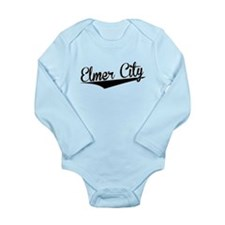 Elmer City, Retro, Body Suit