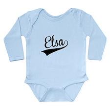 Elsa, Retro, Body Suit