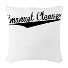 Emanuel Cleaver, Retro, Woven Throw Pillow