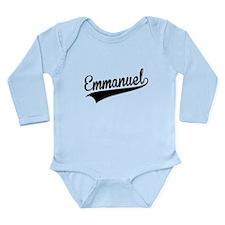 Emmanuel, Retro, Body Suit
