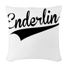 Enderlin, Retro, Woven Throw Pillow