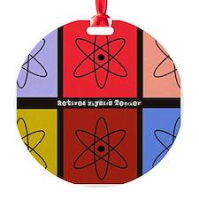 Retired physics teacher 3 Ornament