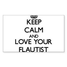 Keep Calm and Love your Flautist Decal