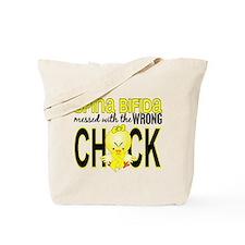 Spina Bifida WrongChick1 Tote Bag
