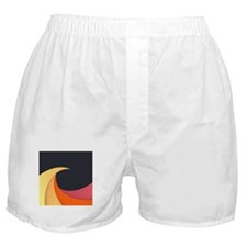 Colorful Wave Boxer Shorts