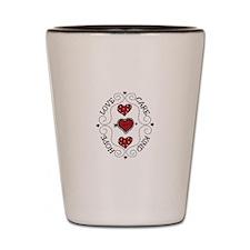 HOPE LOVE CARE KIND Shot Glass