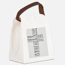 The Lord's Prayer. Canvas Lunch Bag