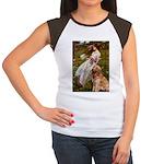 Windflowers & Golden Women's Cap Sleeve T-Shirt