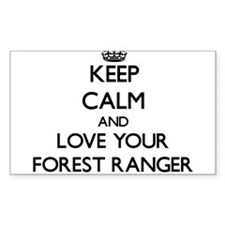 Keep Calm and Love your Forest Ranger Decal