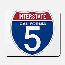 I-5 California Mousepad
