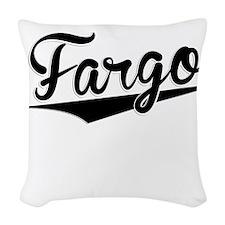 Fargo, Retro, Woven Throw Pillow