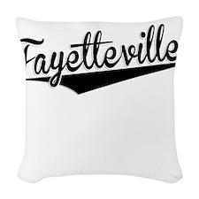 Fayetteville, Retro, Woven Throw Pillow