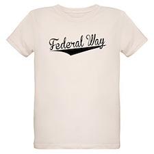 Federal Way, Retro, T-Shirt