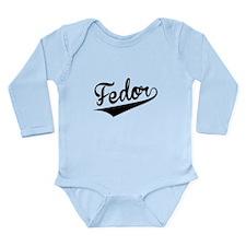 Fedor, Retro, Body Suit