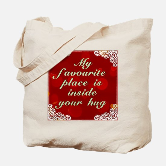My Favourite Place Tote Bag