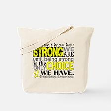 Spina Bifida HowStrongWeAre1 Tote Bag