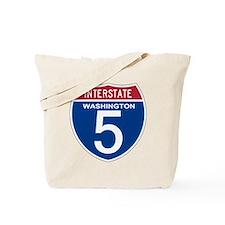 I-5 Washington Tote Bag