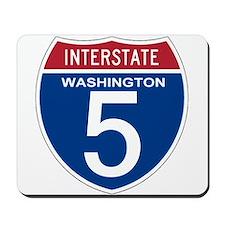 I-5 Washington Mousepad