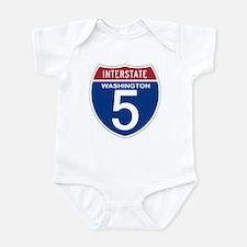 I-5 Washington Infant Bodysuit