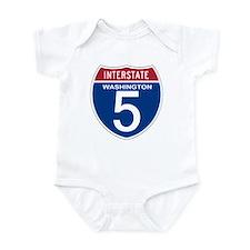 I-5 Washington Onesie