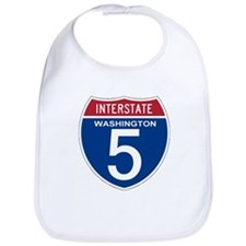 I-5 Washington Bib
