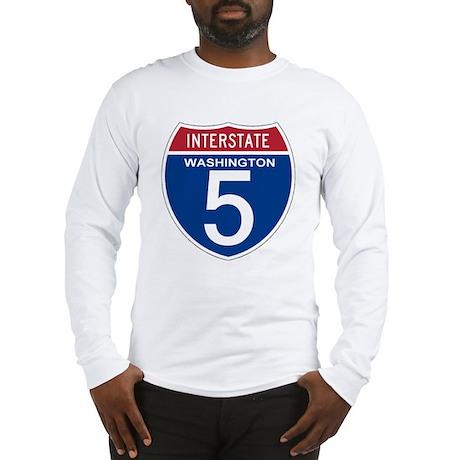 I-5 Washington Long Sleeve T-Shirt