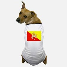 Sicily Flag Dog T-Shirt