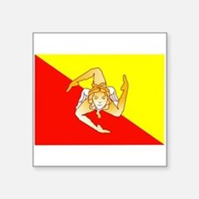 Sicily Flag Sticker