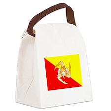 Sicily Flag Canvas Lunch Bag
