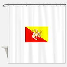 Sicily Flag Shower Curtain