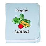 Veggie Addict baby blanket