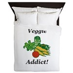 Veggie Addict Queen Duvet