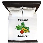 Veggie Addict King Duvet