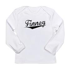 Finney, Retro, Long Sleeve T-Shirt